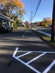 Capital Region Environmental Lab Front Parking
